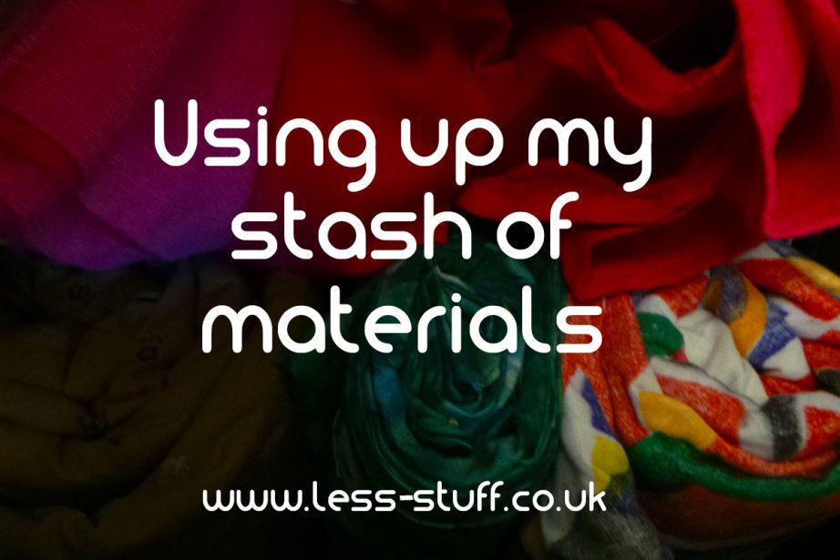using up my fabric stash