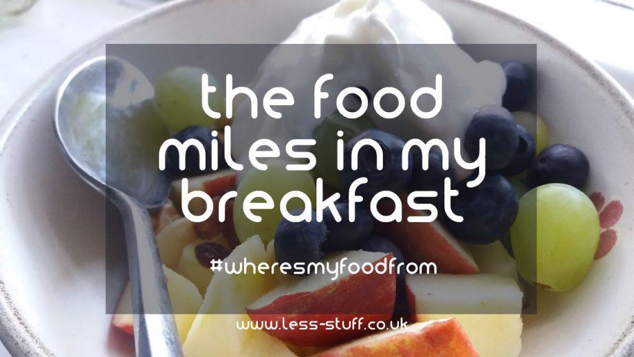 food miles
