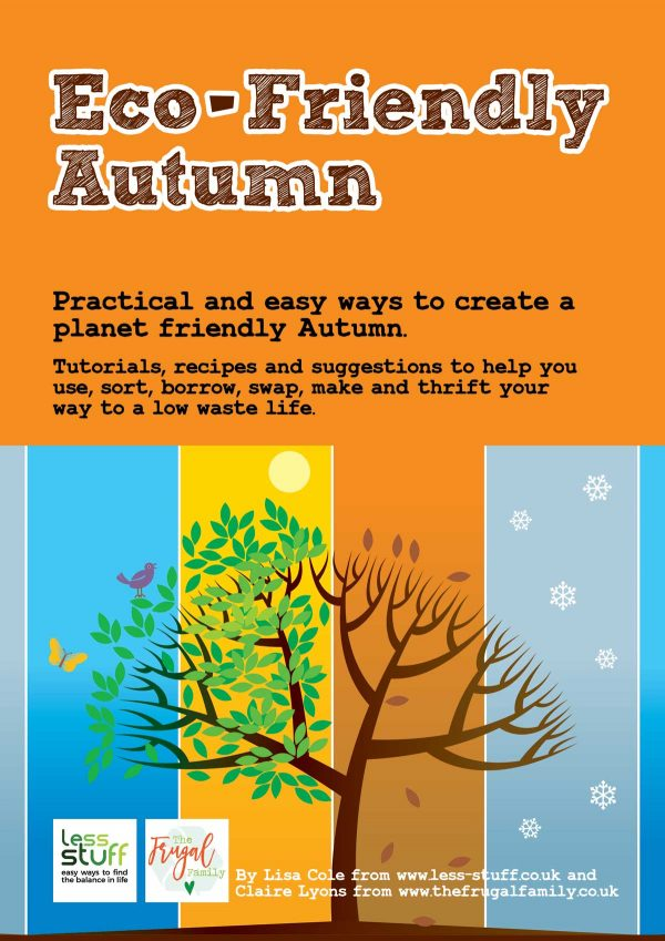 Eco-Friendly Autumn Workbook Printable PDF
