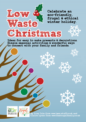 Low Waste Christmas Printable PDF