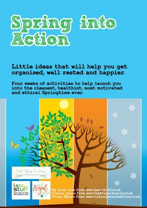 Spring into Action Printed Paperback Workbook