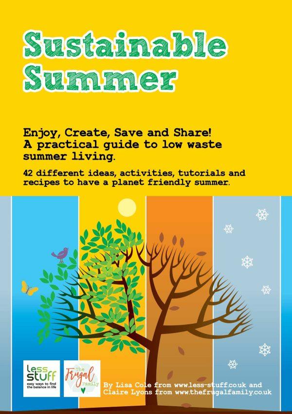 Sustainable Summer Printed Paperback Workbook