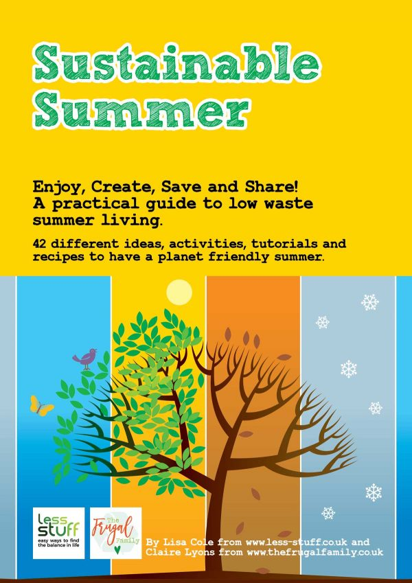 Sustainable Summer Worksheet Pack Printable PDF