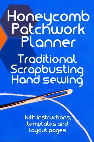 Traditional Scrapbusting Honeycomb Patchwork Planner. Paperback