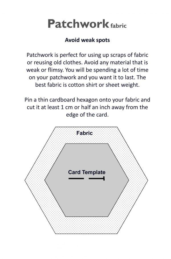 Traditional Scrapbusting Honeycomb Patchwork Planner. Paperback