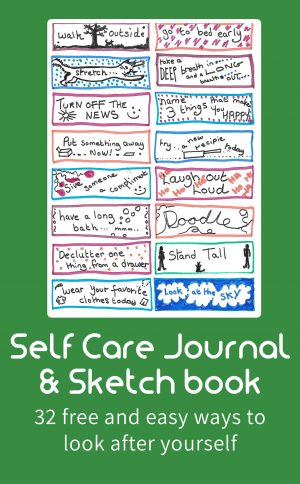 Self Care Journal & Sketch Book