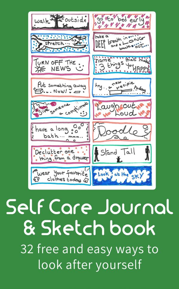 Self Care Journal & Sketch Book